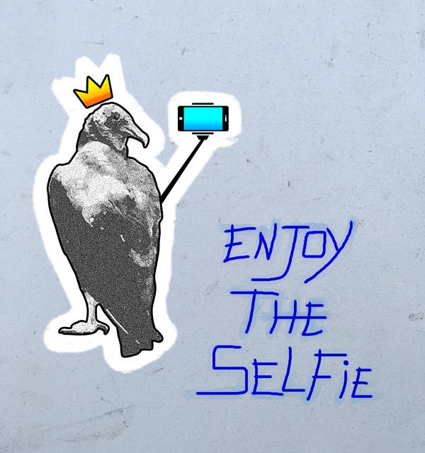 Urubu Rei: ENJOY THE SELFIE
