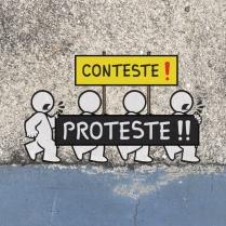 Manos Correria: CONTESTE / PROTESTE