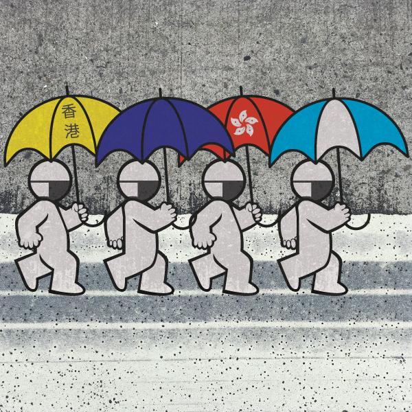 Manos Correria: PROTESTOS EM HONG KONG