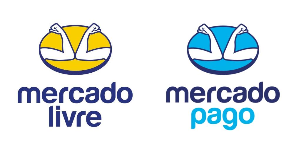 Logo Mercado Livre e Mercado Pago